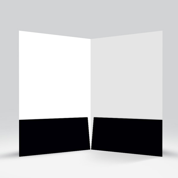 Presentation Folder Black View-4