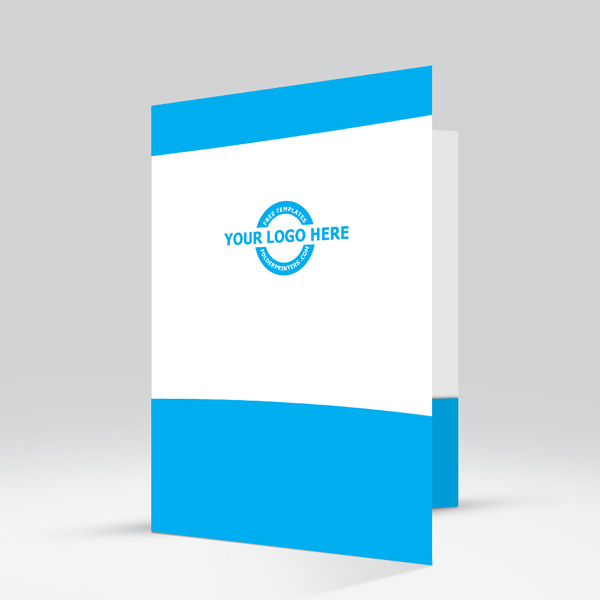 Presentation Folder Cyan View-2