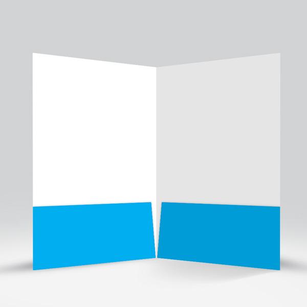 Presentation Folder Cyan View-4