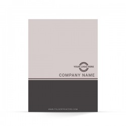 Simple Presentation Folder Grey-1