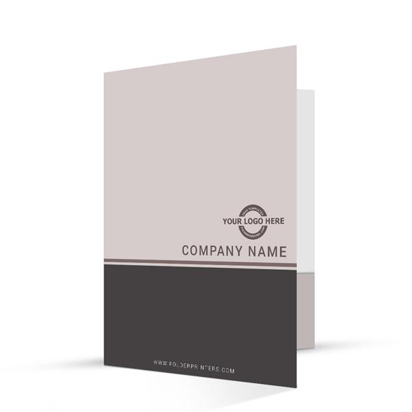Simple Presentation Folder Grey-2