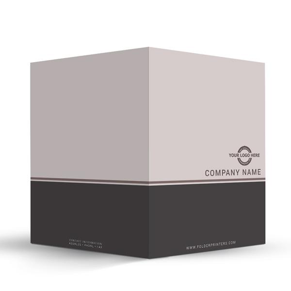 Simple Presentation Folder Grey-3