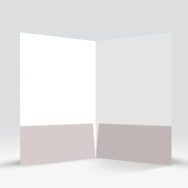 Simple Presentation Folder Grey-4